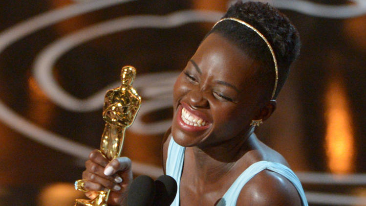 Lupita Nyongo won the award for Best Supporting Actress at this year's Oscars for 12 Years A Slave