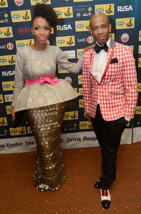 Hitmakers Mafikizolo's Nhlanhla Nciza and Theo Kgosinkwe