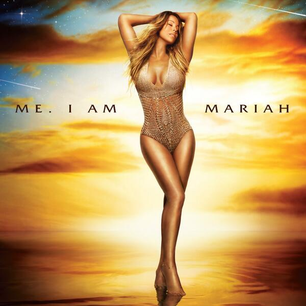 The standard album cover of Mariah Carey's new album, out 27 May 2014