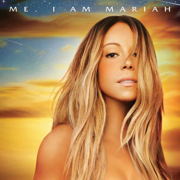 The deluxe edition cover of Mariah Carey's latest album