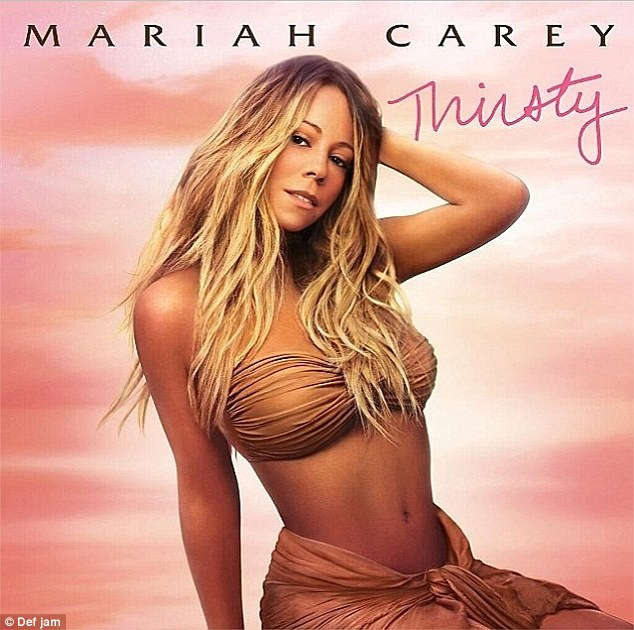 Mariah Carey's Artwork for her new single 'Thirsty'