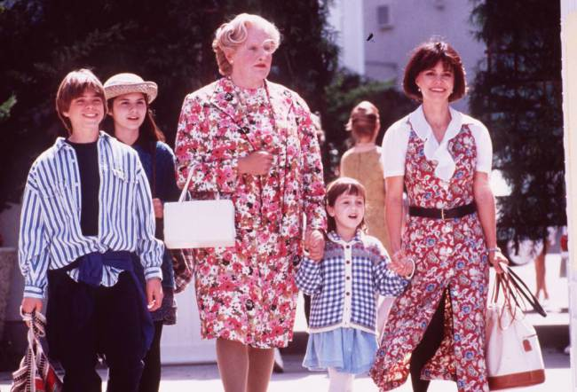 Robin in Mrs Doubtfire, a favourite with millions of fans