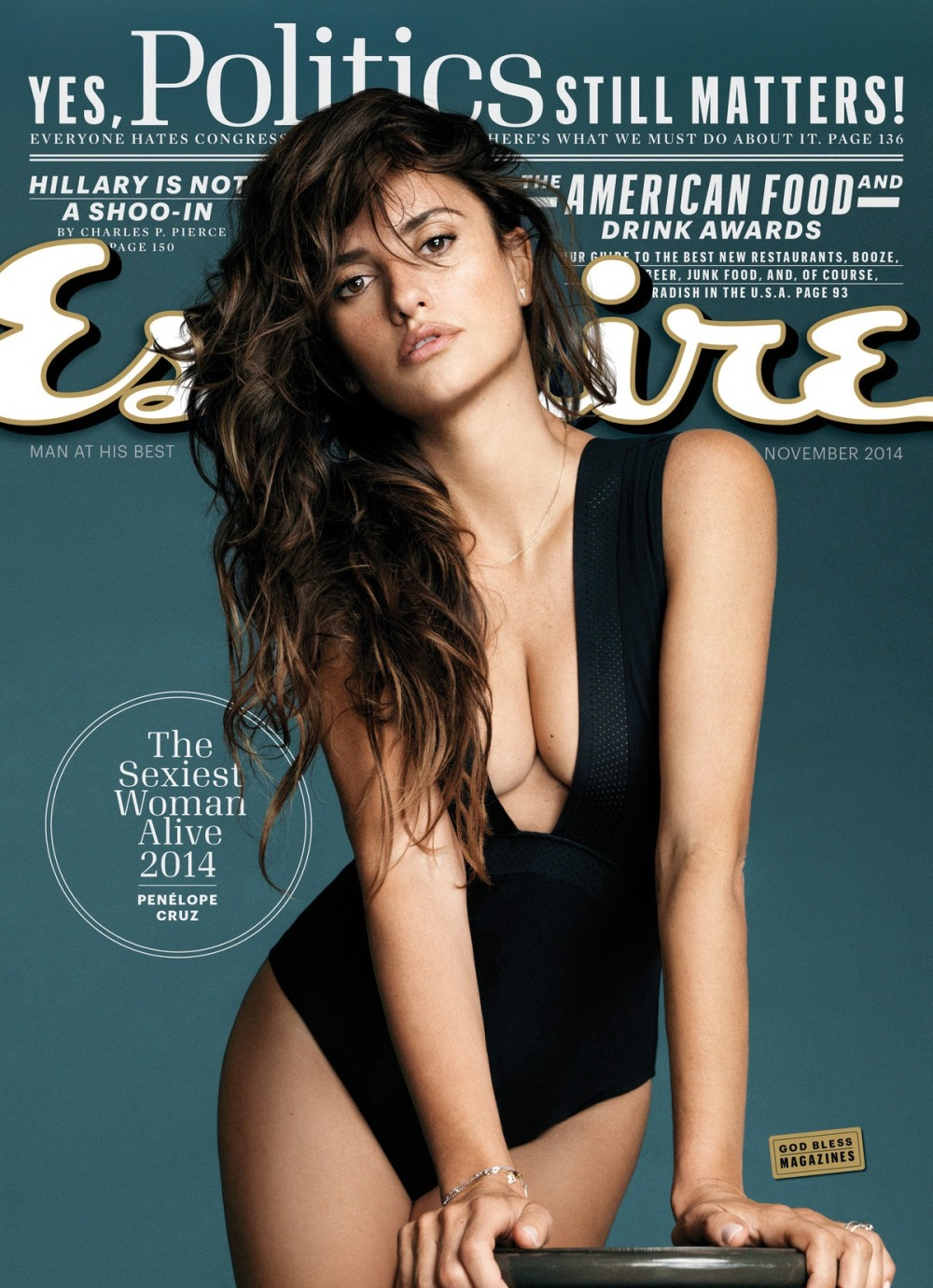 The fairest of all is Penelope Cruz for Esquire Magazine