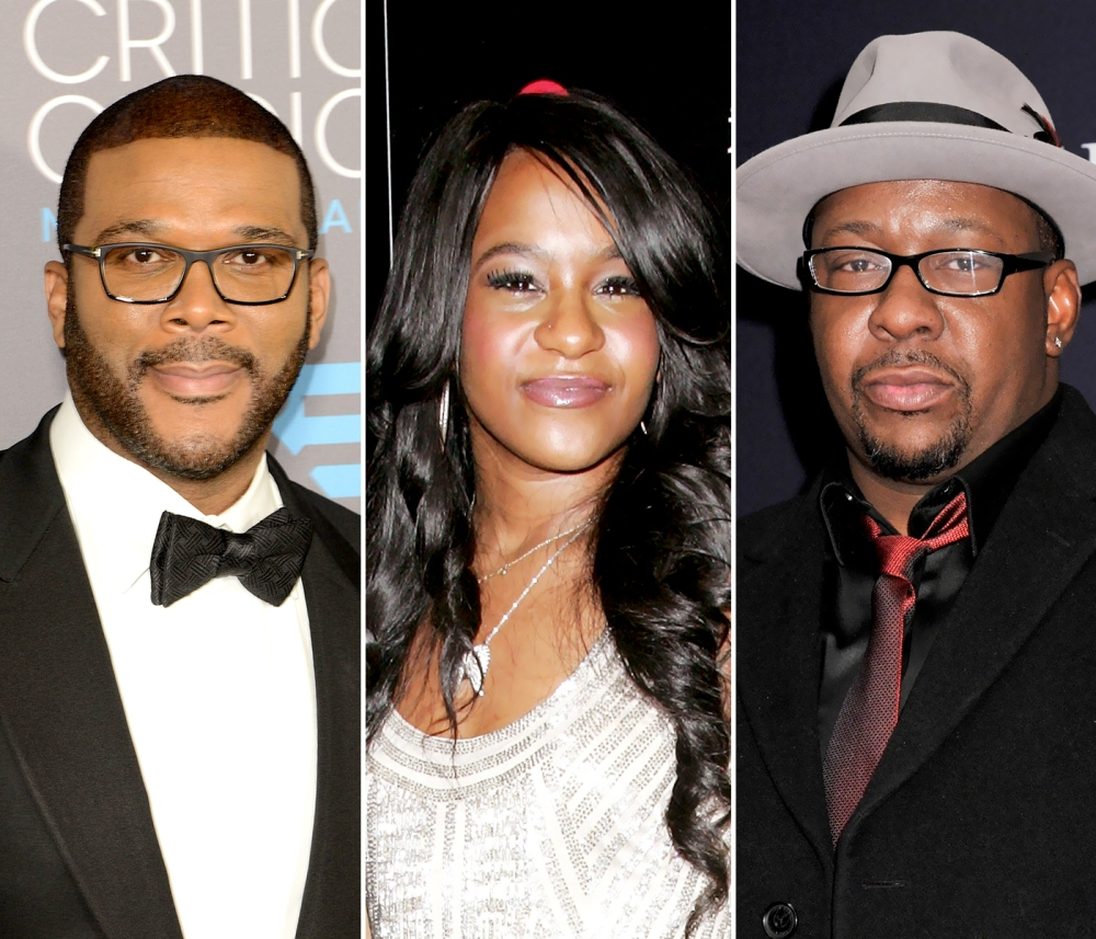 Bobby Brown and Tyler Perry