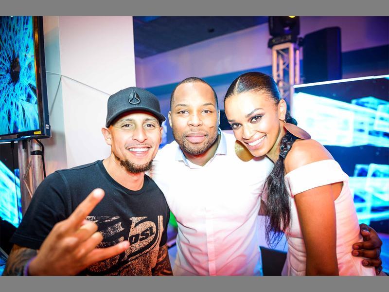 Sizwe Dhlomo and DJ Warras