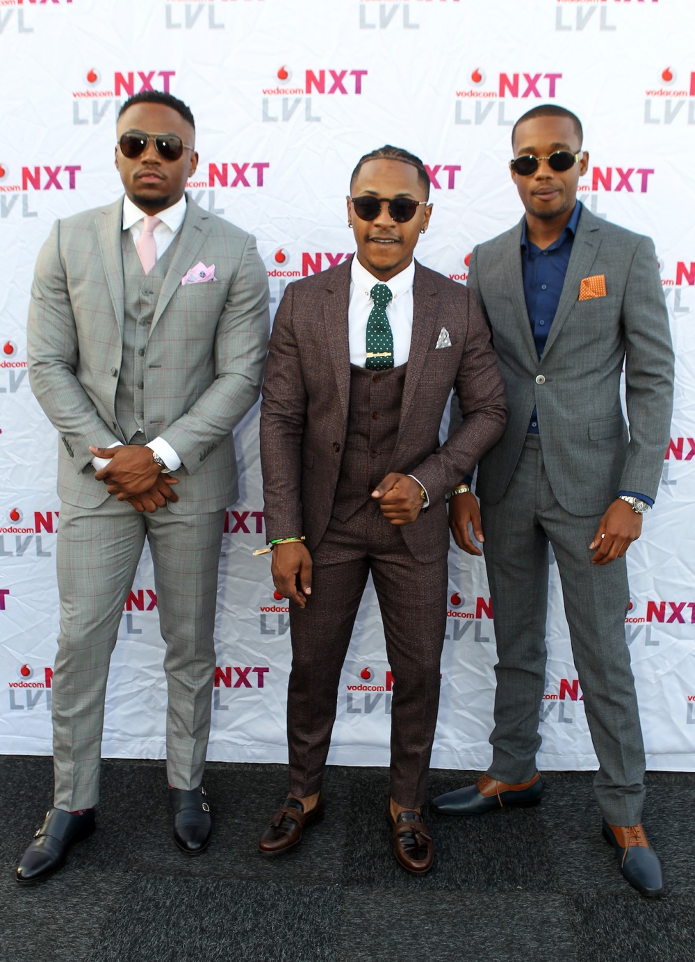 Actor Nkuli Tshirumbula, Hip Hop Prince Priddy Ugly & Reality Show Star K2