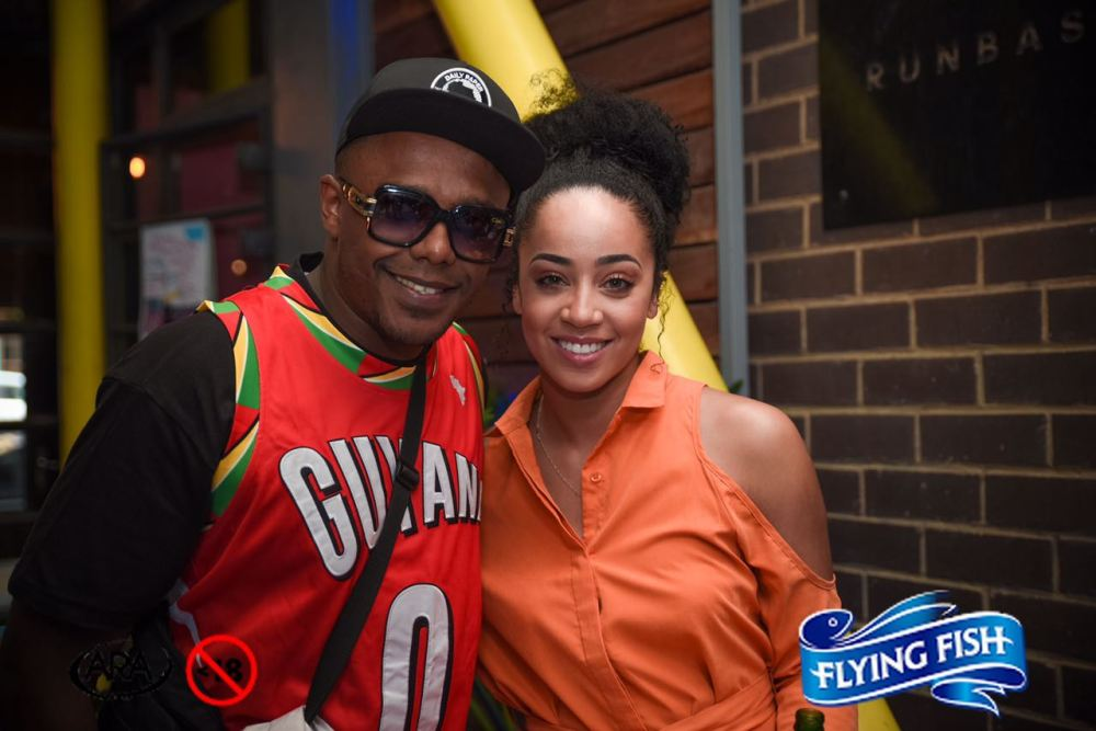 DJ Switch and Model Miss Kay - Flying Fish Save My Satruday Launch.jpeg