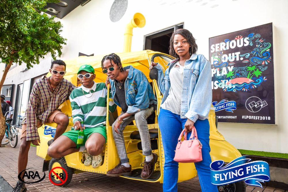 Tuk Tuk Photobooth 2 - Flying Fish Save My Saturday Launch