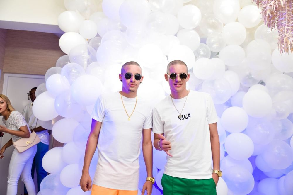Twins on Decks - Flying Fish House of Play Cape Town Launch